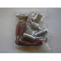 Ремкомплект тормозной колодки (7 наим., 13 дет.)