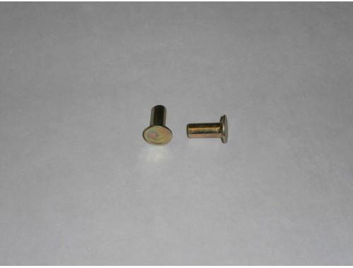 Заклепка тормозной колодки прицепа СЗАП с осью L1-8т стальная 6х13